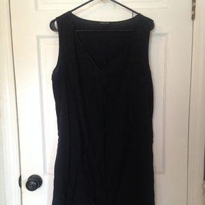 Eileen Fisher black dress A line